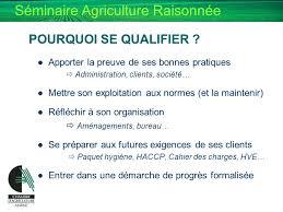 chambre d agriculture 43 de l agriculture raisonnee a l agriculture durable ppt