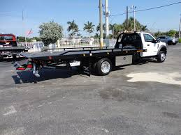 100 20 Ft Truck 18 New Ford F550 XLT PLUS FT JERRDAN ROLLBACK TOW TRUCK