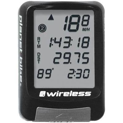 Planet Bike Protege 9.0 Wireless Bike Computer - 4 Line Display, 9 Functions