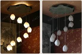 wholesale nimi160 creative diy resin lotus ls ceiling