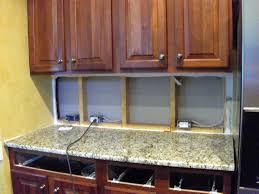 cabinet lighting with power outlets decoration how to