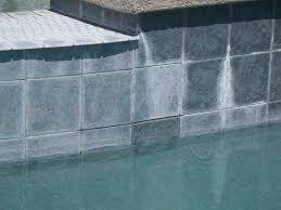 rebar rust stain waterline tile underwater operations