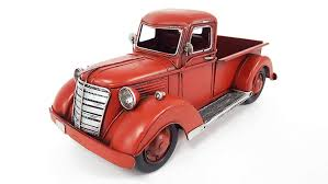 Amazon.com: Red Metal Truck: Home & Kitchen