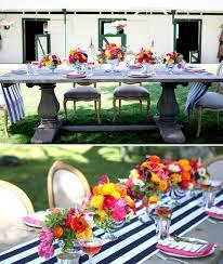 décoration de mariage pleine de couleurs mariage idées