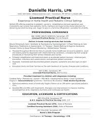 New Lvn Resume Example Sample Luxury Great Administrative