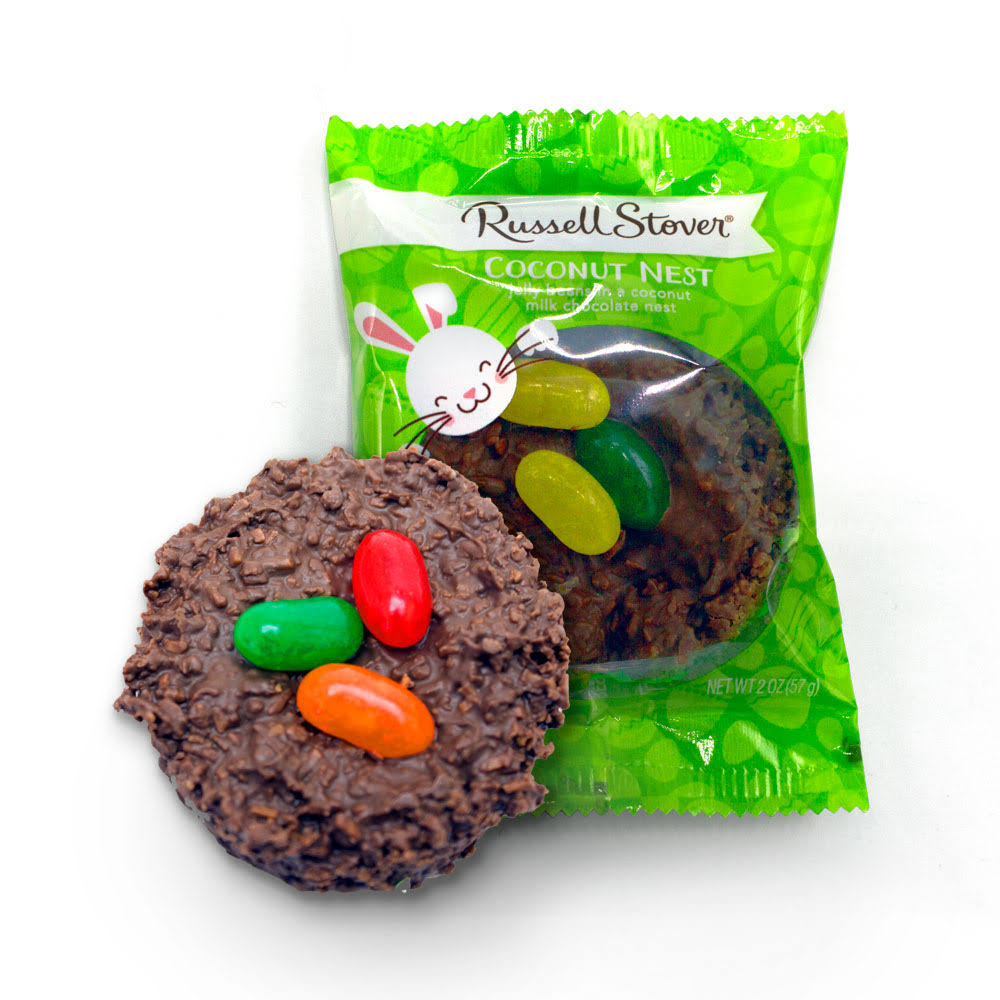Russell Stover Milk Chocolate Coconut Nest, 2 oz.