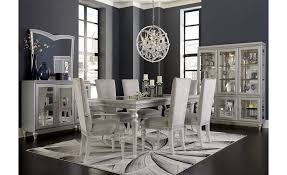 Michael Amini Living Room Sets by Aico Michael Amini Melrose Plaza 4 Leg Upholstered Dining Table