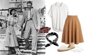 Audrey Hepburn Style Icon Vintage Retro Elegant Ladylike Fashion Outfit Inspiration