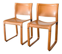 Equipale Chairs Los Angeles by Vintage U0026 Used Leather Dining Chairs Chairish