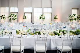 Alternating Tall And Trailing Floral Centrepieces