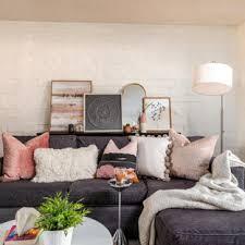 75 shabby chic wohnzimmer mit ziegelwänden ideen bilder