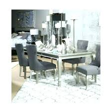 Ashley Furniture Kitchen Chairs Table Set Silver Finish Dining Room Sets Prices Hutch