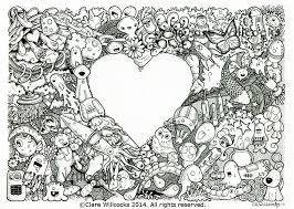 Adult Colouring Book Page Perfect Coloring Pdf