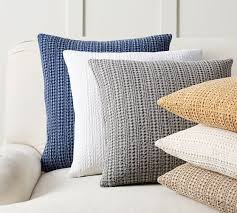 Pottery Barn Decorative Pillow Inserts by Honeycomb Pillow Cover Pottery Barn