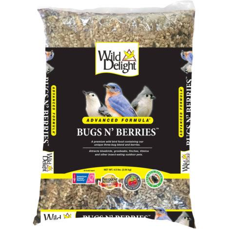 Wild Delight Bugs N Berries - 4.5 lbs