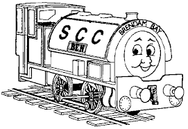 Full Image For Free Coloring Pages Trains Thomas The Train Pictures