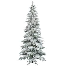 6ft Pre Lit Flocked Christmas Tree by Decoration Ideas Inspiring Image Of Christmas Decoration With