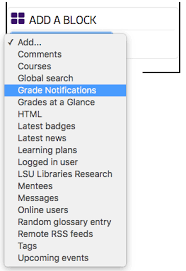Lsu Online Help Desk by Moodle 3 Blocks Grade Notifications Grok Knowledge Base