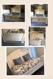 White King Headboard And Footboard by King Headboard And Footboard Rehab To Twin Daybed I Found A