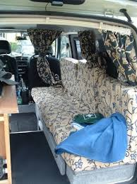 Minivan To Camper Conversion This Photo Is From A UK Small Van Campervan Project