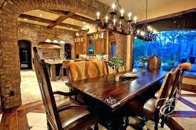 12 Mediterranean Dining Room Furniture Set