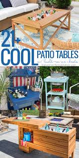 Remodelaholic | Brilliant DIY Cooler Tables For The Patio (with ... Patio Cooler Stand Project 2 Patios Cabin And Lakes 11 Best Beverage Coolers For Summer 2017 Reviews Of Large Kruses Workshop Party Table With Built In Beerwine Ice How To Build A Wood Deck Fox Hollow Cottage Diy Your Backyard Wheelbarrow Foil Smoker Outdoor Decorations Beer Wooden Plans Home Decoration 25 Unique Cooler Ideas On Pinterest Diy Chest Man Cave Backyard Our Preppy Lounge Area Thoughtful Place