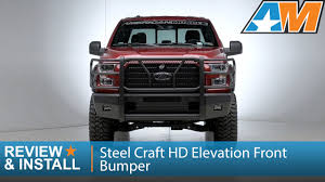 100 Truck Front Bumpers 20152017 Ford F150 Steel Craft HD Elevation Bumper Review