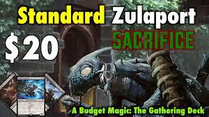 mtg where to start in standard the 20 zulaport sacrifice