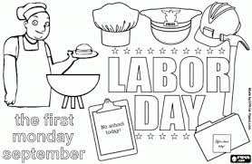 Internetional Labor Day Free Coloring Pages