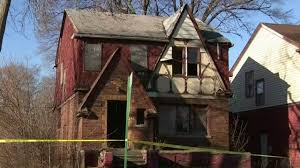 100 Body House Mans Body Found In Abandoned Burned House On Detroits East