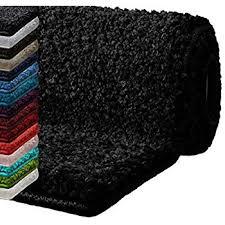 paco home moderner badezimmer teppich einfarbig hochflor