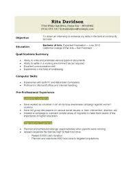 Perfect Resume Examples Template For Graduates Free My Professional Summary