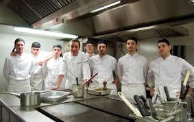 equipe de cuisine patrice donnay chef de la brasserie le capoul