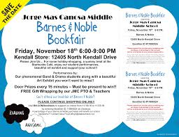 JMC Barnes & Noble Bookfair