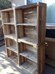 Bookshelf Made From Pallets 21