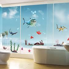 Disney Finding Nemo Bathroom Accessories by New Finding Nemo Fish Wall Stickers Bathroom 3d Cartoon Bathing