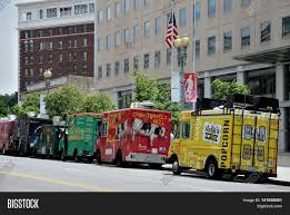 100 Food Trucks In Dc Today WASHINGTON DC MAY 19 Image Photo Free Trial Bigstock