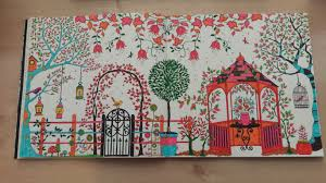 Secret Garden The Adult Colouring Book Olivia