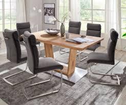 stuhl nada vintage grau mit griff freischwinger edelstahl esszimmerstuhl moderne einrichtungsideen günstig bei möbel modern