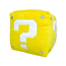 Mario Bros Question Block Lamp by Super Mario Bros Question Mark Block Light