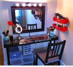 professional dressing table with style wall mirror of