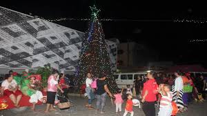 Lighting Of The Biggest Christmas Tree In Tonga