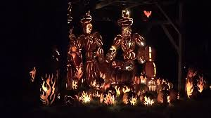 Great Pumpkin Blaze Address by A Hudson Valley Halloween The Great Jack O U0027 Lantern Blaze