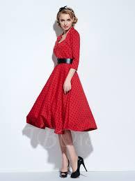 polka dots vintage women u0027s swing dress tbdress com
