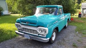 1960 Ford F-100 - Overview - CarGurus 1960 Ford F100 427 V8 Truck Blue Oval 571960 The Gems Once Forgotten Effie Photo Image Gallery Highboys My Ford Crew Cab Enthusiasts Curbside Classic F250 Styleside Tonka Assetshemmingscomuimage6237598077002xjpgr Ranger T6 Wikipedia Shanes Car Parts Berlin Motors File1960 F500 Stake Truck Black Frjpg Wikimedia Commons For Sale Classiccarscom Cc708566 Schnablm23 F150 Regular Cab Specs Photos Modification Big