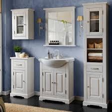 Tall Bathroom Cabinets Freestanding by Serie Mebli łazienkowych Romantic Białe W Sklepach Leroy Merlin