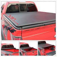 100 Access Truck Covers Gymax Roll Up Bed Tonneau Cover For 20152018 Ford F150 55ft