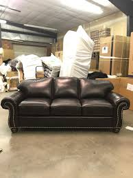 Flexsteel Vail Sofa Leather by Custom Ordered Living Room Ferrin U0027s Furniture Great Falls Montana