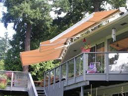 Deck Awnings - Rainier Shade Gallery Retractable Patio Creative Awnings Shelters Deck Patio Canvas Canopy Globe Awning Retractable Rolling Shutters Ca Since More On Modern Style Wood And Ideas For Decks Helpful Guide Your And American Sucreens Porch A Hoffman All About Gutters Deck Awnings Best 25 Ideas On Pinterest Awning Cover Design Installation Ct Toff Shades Sci