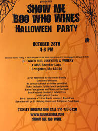 Grants Farm Halloween Events 2017 by St Louis Missouri Winery Boenker Hill Vineyard U0026 Winery